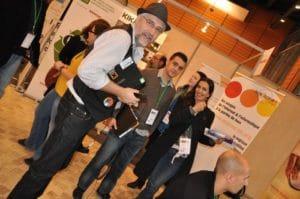 Guy Pastre (La M@ison, Mehdi Chebira (CG42), Delphine Duriaux (Zoomacom)