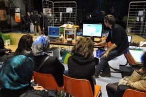 Atelier 3D Mathieu Dupont (Chantier Libre)- Forum du Numérique collaboratif 2014 du Chambon-Faugerolles