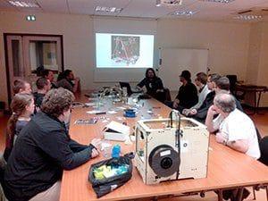 Séances collaboratives autour de la fabrication numérique (Espace Numérique à Roanne)