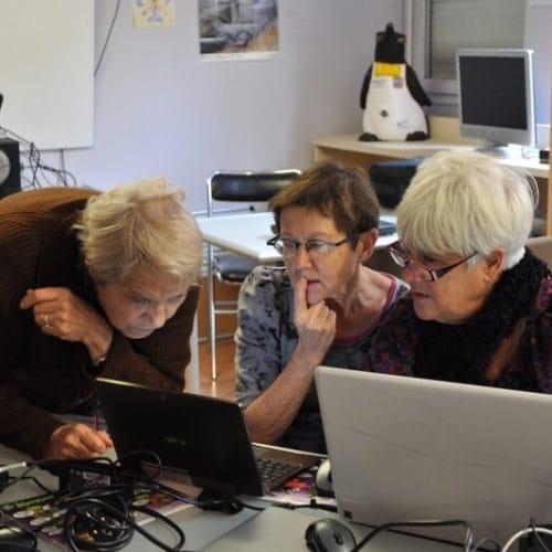 Semaine Bleue 2012 au Comptoir Numérique - Zoomacom Tous droits réservés