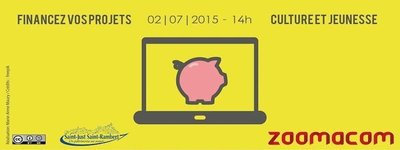 Financez vos projets (Information/Échanges) – 2 juillet à St-Rambert (42)